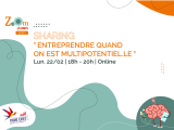 SHARING « Entreprendre quand on est multipotentiel.le »
